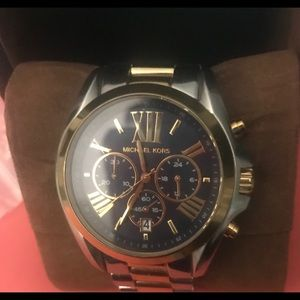 Authentic unisex Michael kors watch